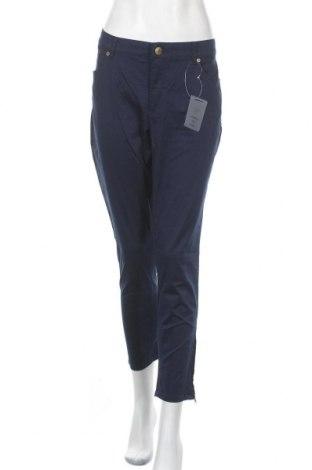 Дамски панталон Rick Cardona, Размер XL, Цвят Син, 98% памук, 2% еластан, Цена 35,70лв.