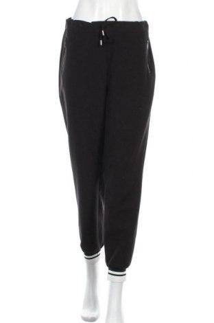Дамски панталон Rick Cardona, Размер L, Цвят Черен, 77% полиестер, 20% вискоза, 3% еластан, Цена 39,60лв.
