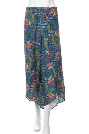 Pantaloni de femei Rockmans, Mărime XXL, Culoare Multicolor, Poliester, elastan, Preț 146,22 Lei