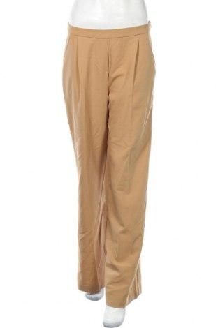 Дамски панталон Suite Blanco, Размер M, Цвят Бежов, 77% полиестер, 17% вискоза, 6% еластан, Цена 27,84лв.