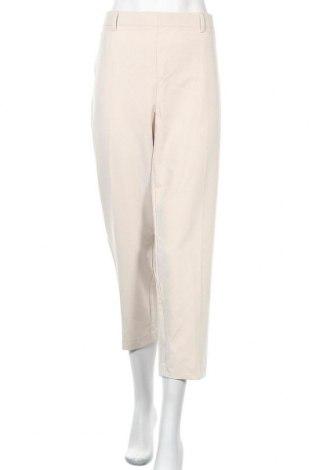 Γυναικείο παντελόνι Suzanne Grae, Μέγεθος XL, Χρώμα  Μπέζ, 69% πολυεστέρας, 26% βισκόζη, 5% ελαστάνη, Τιμή 17,28€