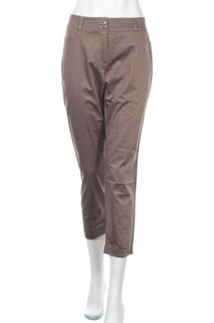 Дамски панталон Taifun By Gerry Weber, Размер L, Цвят Кафяв, 97% памук, 3% еластан, Цена 19,95лв.