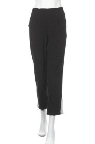 Дамски панталон Takko Fashion, Размер XL, Цвят Черен, 65% полиестер, 32% вискоза, 3% еластан, Цена 15,12лв.