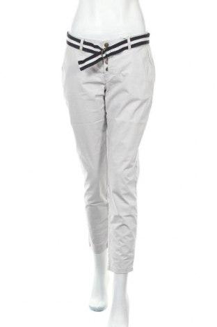 Γυναικείο παντελόνι Tom Tailor, Μέγεθος M, Χρώμα Γκρί, 98% βαμβάκι, 2% ελαστάνη, Τιμή 25,23€