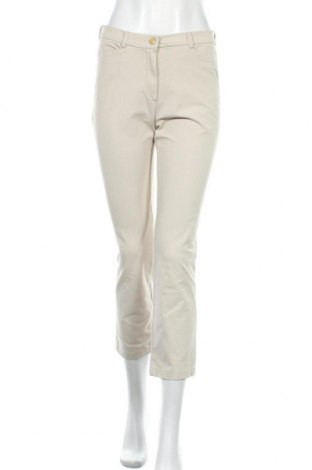 Дамски панталон Toni Dress, Размер S, Цвят Екрю, 47% памук, 46% полиамид, 7% еластан, Цена 7,24лв.