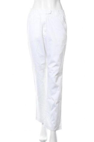 Дамски панталон Top Tex, Размер S, Цвят Бял, 55% памук, 45% полиестер, Цена 12,84лв.