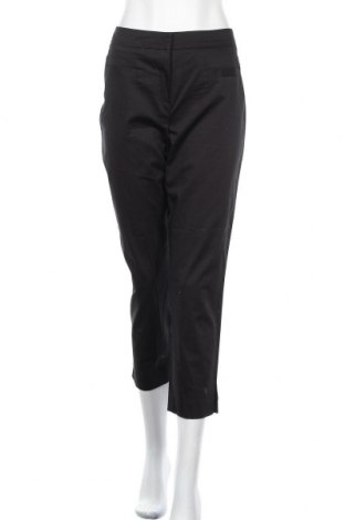 Дамски панталон Un Deux Trois, Размер M, Цвят Черен, 98% памук, 2% еластан, Цена 15,44лв.