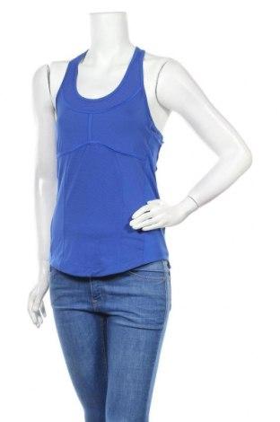 Дамски потник Adidas By Stella McCartney, Размер M, Цвят Син, 80% полиестер, 20% еластан, Цена 34,50лв.