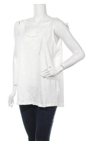 Γυναικείο αμάνικο μπλουζάκι Avella, Μέγεθος XL, Χρώμα Λευκό, Βαμβάκι, Τιμή 14,03€
