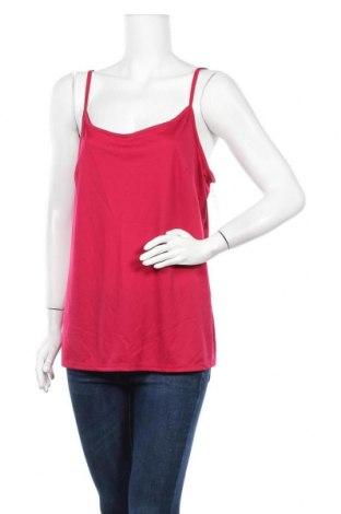 Γυναικείο αμάνικο μπλουζάκι Avella, Μέγεθος XL, Χρώμα Κόκκινο, Πολυεστέρας, Τιμή 7,01€