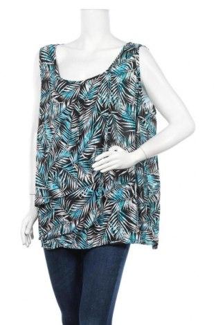 Γυναικείο αμάνικο μπλουζάκι Avella, Μέγεθος 3XL, Χρώμα Πολύχρωμο, Πολυεστέρας, Τιμή 9,94€