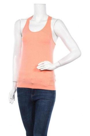 Дамски потник Crivit, Размер M, Цвят Оранжев, 68% полиамид, 24% полиестер, 8% еластан, Цена 5,04лв.