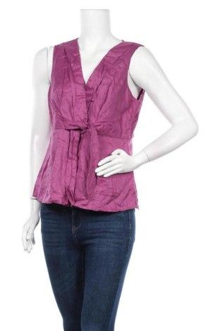 Γυναικείο αμάνικο μπλουζάκι Mexx, Μέγεθος XL, Χρώμα Βιολετί, Λινό, Τιμή 5,85€