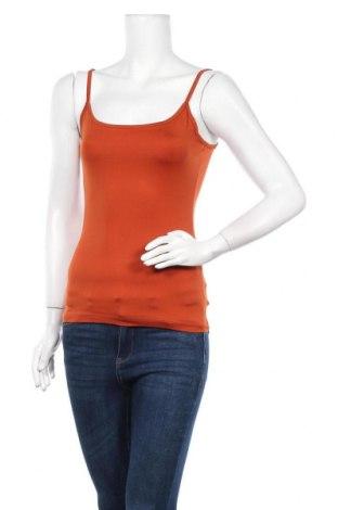 Γυναικείο αμάνικο μπλουζάκι Mexx, Μέγεθος S, Χρώμα Πορτοκαλί, 95% πολυεστέρας, 5% ελαστάνη, Τιμή 8,02€