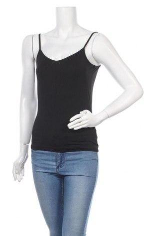 Γυναικείο αμάνικο μπλουζάκι Mexx, Μέγεθος M, Χρώμα Μαύρο, 95% πολυαμίδη, 5% ελαστάνη, Τιμή 6,23€