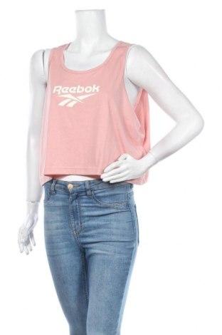 Дамски потник Reebok, Размер XL, Цвят Розов, 65% полиестер, 35% памук, Цена 36,75лв.