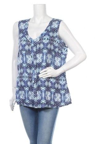 Γυναικείο αμάνικο μπλουζάκι Suzanne Grae, Μέγεθος XXL, Χρώμα Πολύχρωμο, Λινό, Τιμή 9,35€