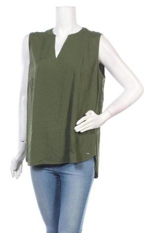 Γυναικείο αμάνικο μπλουζάκι Tom Tailor, Μέγεθος XXL, Χρώμα Πράσινο, 100% βισκόζη, Τιμή 6,68€