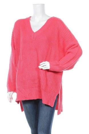 Дамски пуловер B.You, Размер L, Цвят Розов, Цена 58,00лв.