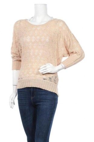 Дамски пуловер Valley Girl, Размер S, Цвят Бежов, Полиестер, Цена 24,94лв.