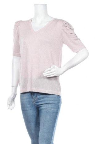 Дамски пуловер Vivance, Размер M, Цвят Розов, 75% вискоза, 16% полиестер, 9% метални нишки, Цена 39,00лв.