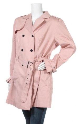 Дамски шлифер Aniston, Размер XL, Цвят Розов, Памук, Цена 83,30лв.