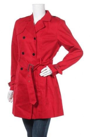 Дамски шлифер Aniston, Размер M, Цвят Червен, Памук, Цена 83,30лв.