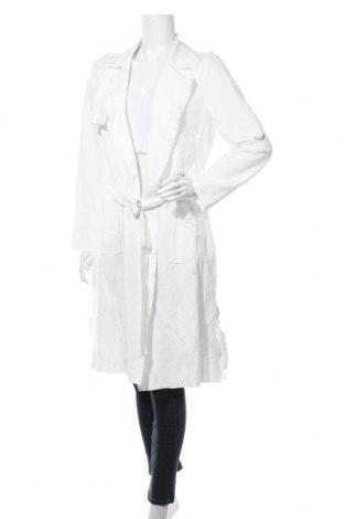 Дамски шлифер Comma,, Размер L, Цвят Бял, 70% вискоза, 26% полиамид, 4% еластан, Цена 160,30лв.