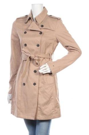 Дамски шлифер Hilfiger Denim, Размер S, Цвят Бежов, 60% лиосел, 40% памук, Цена 74,25лв.