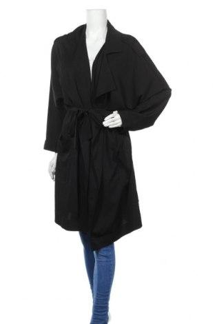 Дамски шлифер Mango, Размер S, Цвят Черен, Цена 51,75лв.