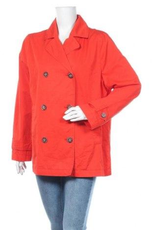 Дамски шлифер S.Oliver, Размер XL, Цвят Оранжев, Памук, Цена 90,30лв.