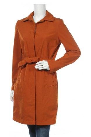 Дамски шлифер Tom Tailor, Размер S, Цвят Кафяв, 90% полиестер, 10% еластан, Цена 96,85лв.