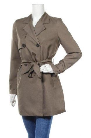 Дамски шлифер Vero Moda, Размер S, Цвят Зелен, Полиестер, Цена 48,30лв.