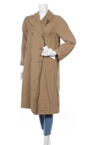 Dámský přechodný kabát  Zara, Velikost S, Barva Béžová, 93% viskóza, 7% polyester, Cena  1328,00Kč
