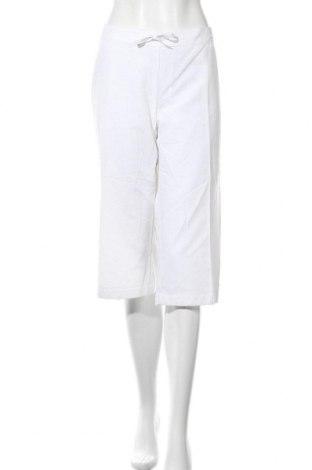 Γυναικείο αθλητικό παντελόνι Adidas, Μέγεθος XL, Χρώμα Λευκό, 62% βαμβάκι, 38% πολυεστέρας, Τιμή 11,69€