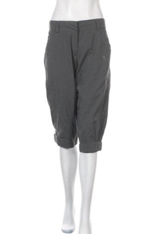 Γυναικείο αθλητικό παντελόνι Adidas, Μέγεθος M, Χρώμα Γκρί, Πολυαμίδη, Τιμή 16,62€