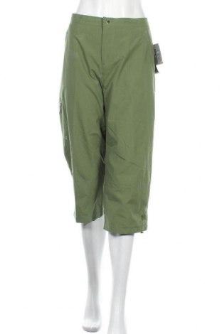 Дамски спортен панталон Wilson, Размер L, Цвят Зелен, Полиестер, Цена 30,24лв.