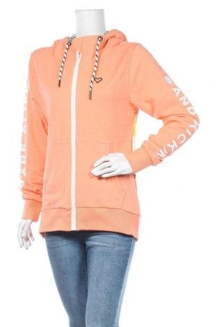Γυναικείο φούτερ Alife And Kickin, Μέγεθος L, Χρώμα Πορτοκαλί, 50% βαμβάκι, 50% πολυεστέρας, Τιμή 39,33€