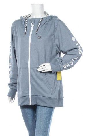 Γυναικείο φούτερ Alife And Kickin, Μέγεθος 3XL, Χρώμα Μπλέ, 50% βαμβάκι, 50% πολυεστέρας, Τιμή 36,34€