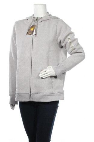 Дамски суичър Carhartt, Размер L, Цвят Сив, 55% памук, 45% полиестер, Цена 92,40лв.