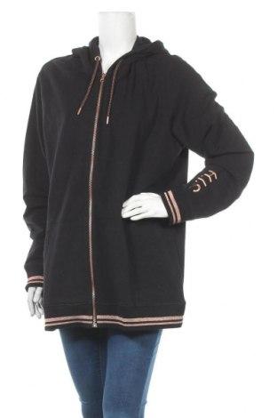 Дамски суичър H.i.s, Размер XXL, Цвят Черен, 95% памук, 5% еластан, Цена 44,25лв.