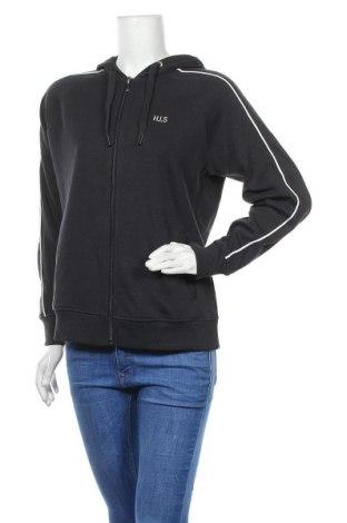 Дамски суичър H.i.s, Размер M, Цвят Черен, 60% памук, 40% полиестер, Цена 41,30лв.