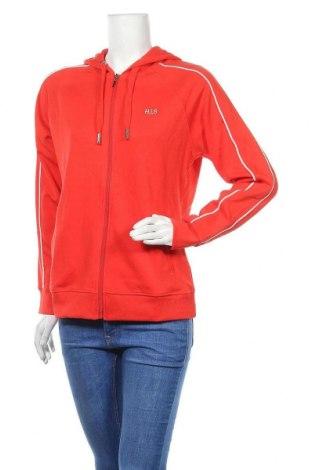 Дамски суичър H.i.s, Размер M, Цвят Червен, 60% памук, 40% полиестер, Цена 41,30лв.