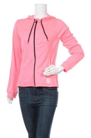 Дамски суичър H.i.s, Размер S, Цвят Розов, 65% полиестер, 35% памук, Цена 44,25лв.