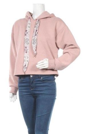 Дамски суичър Herrlicher, Размер XS, Цвят Розов, 80% памук, 20% полиестер, Цена 57,85лв.