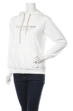 Γυναικείο φούτερ Lascana, Μέγεθος S, Χρώμα Λευκό, 50% βαμβάκι, 50% πολυεστέρας, Τιμή 18,85€