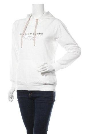 Γυναικείο φούτερ Lascana, Μέγεθος S, Χρώμα Λευκό, 50% βαμβάκι, 50% πολυεστέρας, Τιμή 20,93€