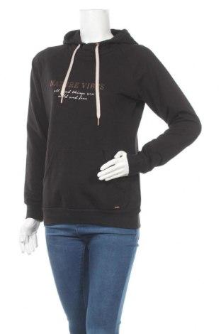 Γυναικείο φούτερ Lascana, Μέγεθος S, Χρώμα Μαύρο, 50% βαμβάκι, 50% πολυεστέρας, Τιμή 23,09€