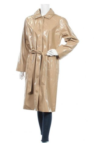 Дамски шлифер Bruuns Bazaar, Размер L, Цвят Бежов, Полиуретан, Цена 230,30лв.
