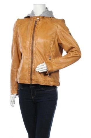 Γυναικείο δερμάτινο μπουφάν Gipsy, Μέγεθος XL, Χρώμα Καφέ, Γνήσιο δέρμα, Τιμή 106,28€